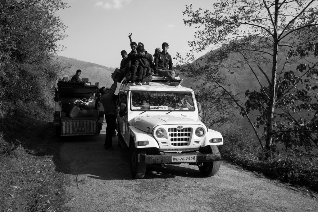 Jeep retour