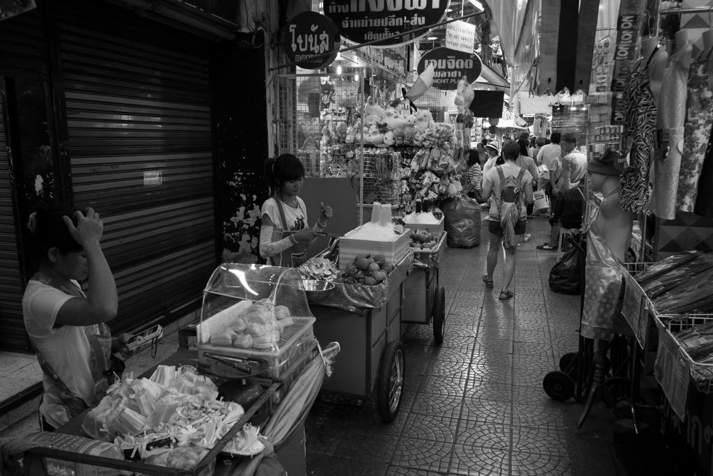 Marché couvert Chinatown