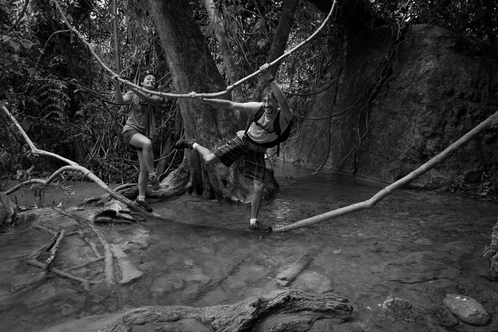 Erawan - pont de singe