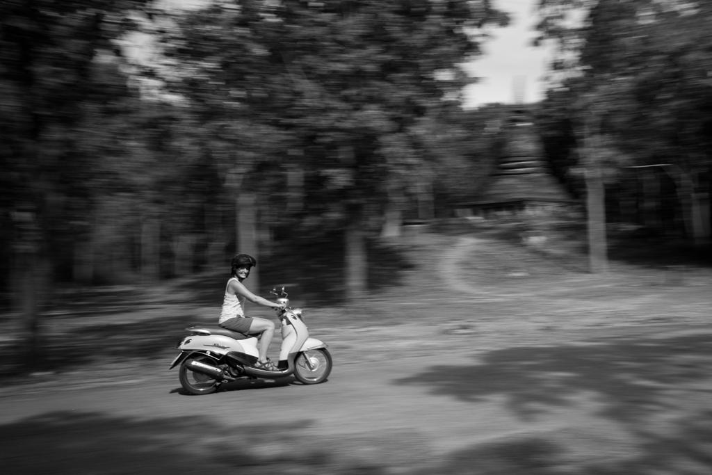 Sukhothai scooter