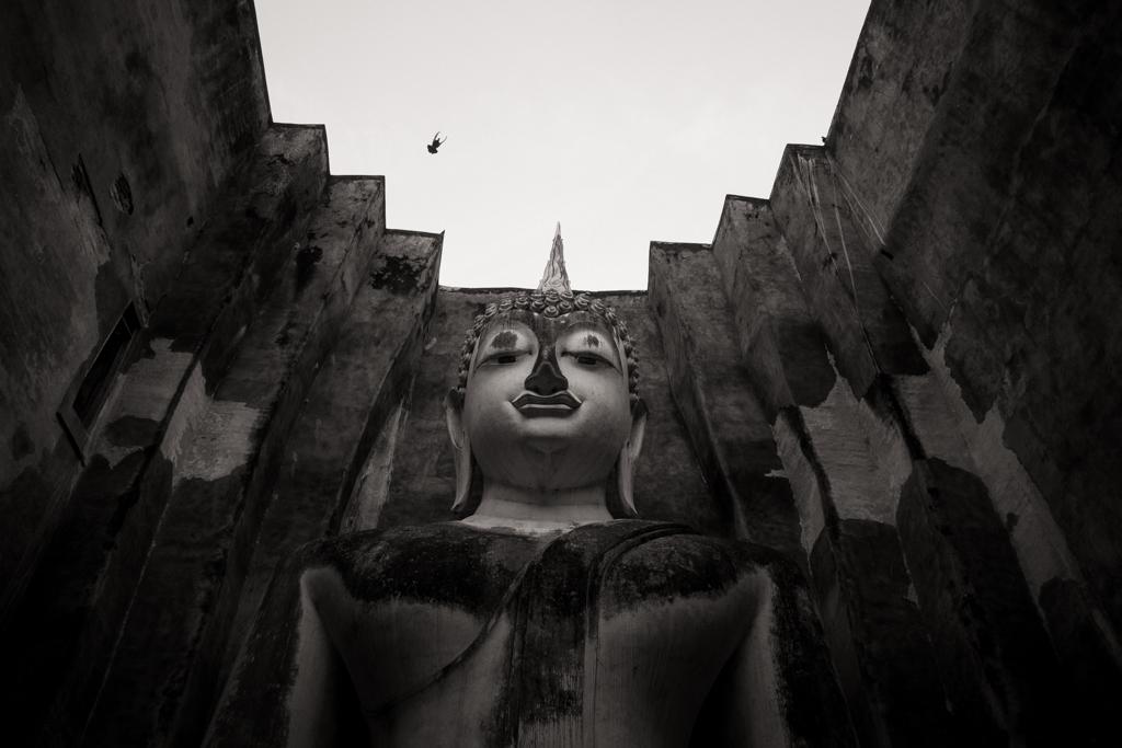 Wat Si Chum vu haute