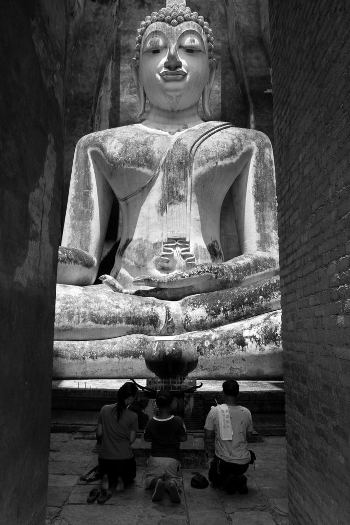Wat Si Chum prière