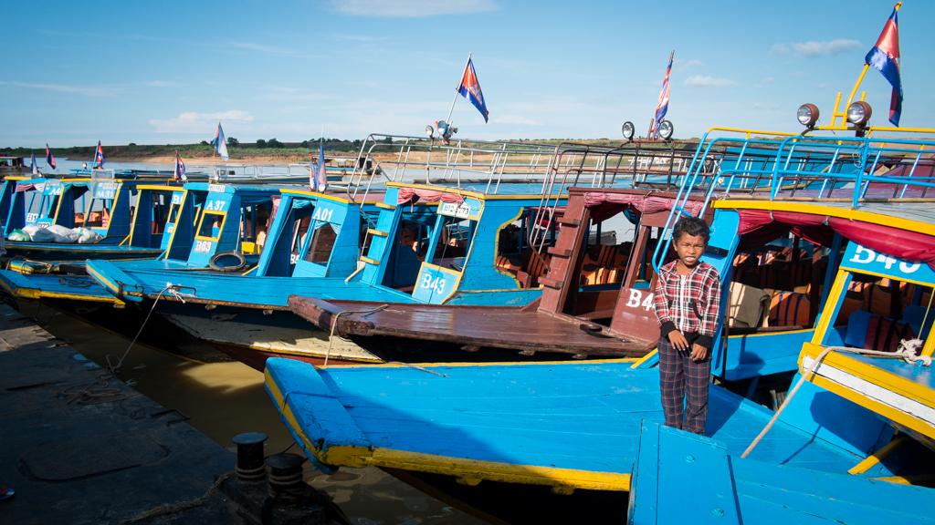 Bateau pour Battambang