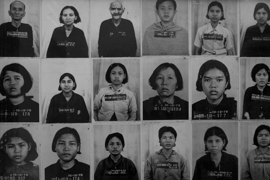 Portraits Tuol Sleng