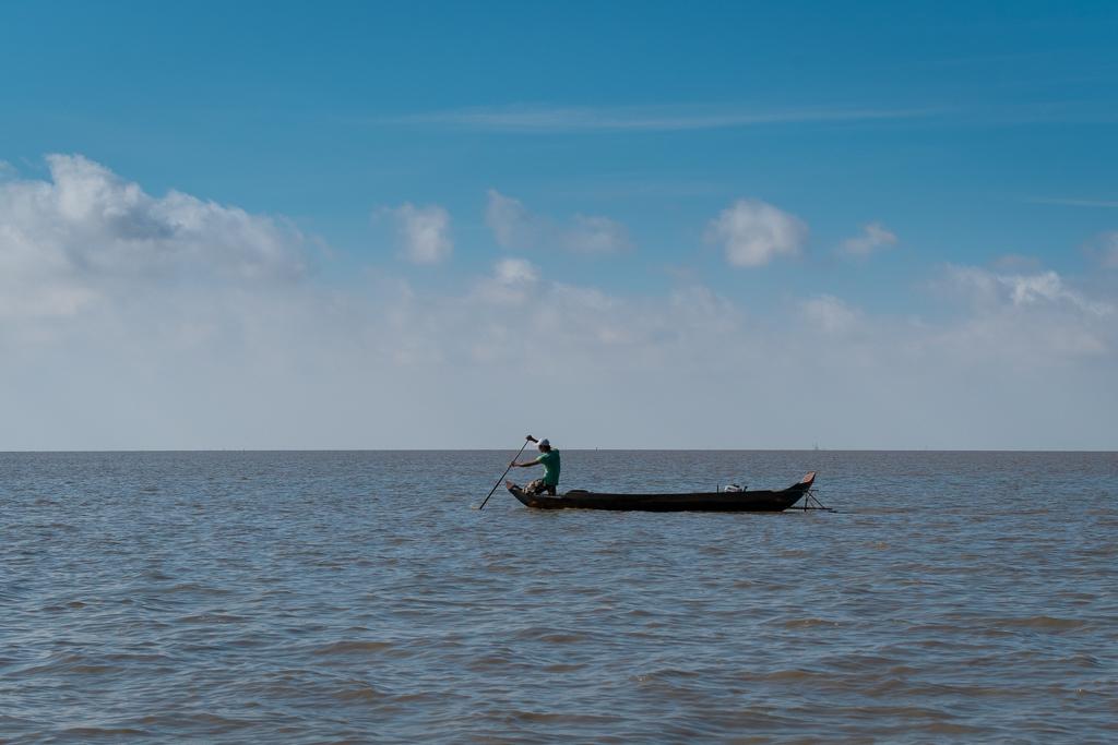 Pêcheur Tonle Sap