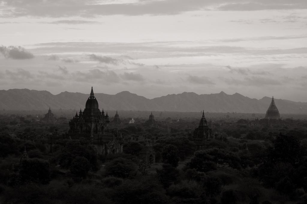 Lever soleil Bagan