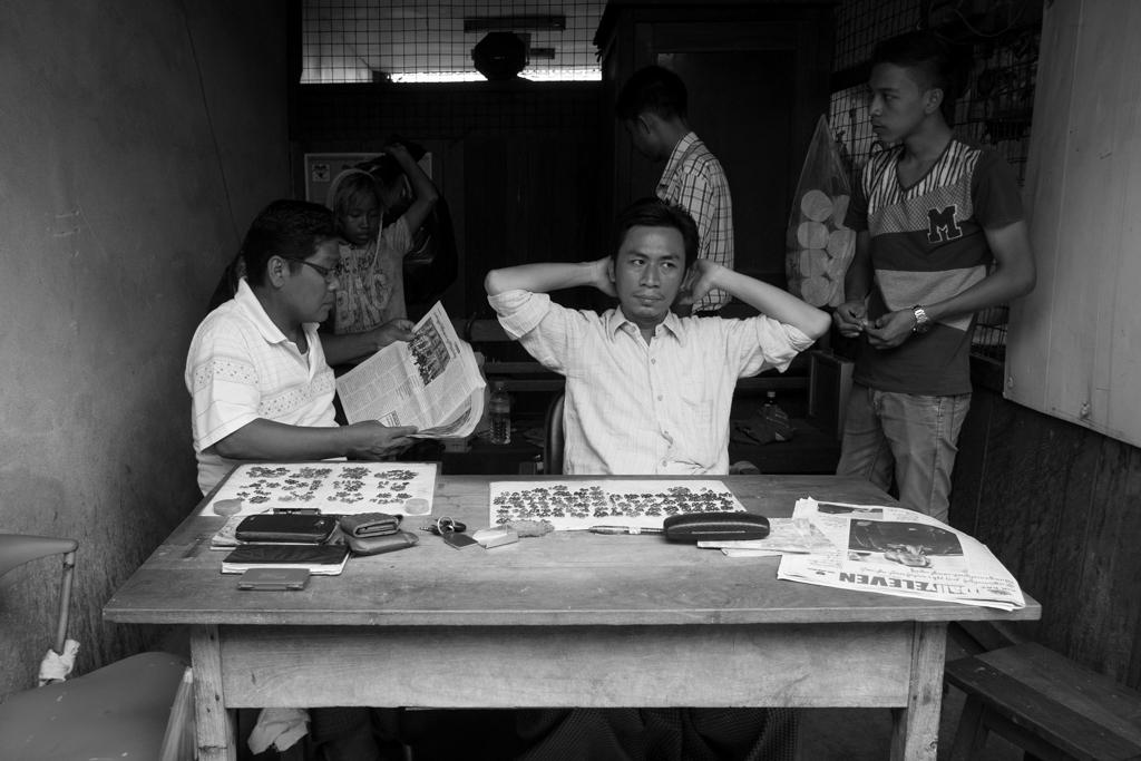 Vendeur jade Mandalay