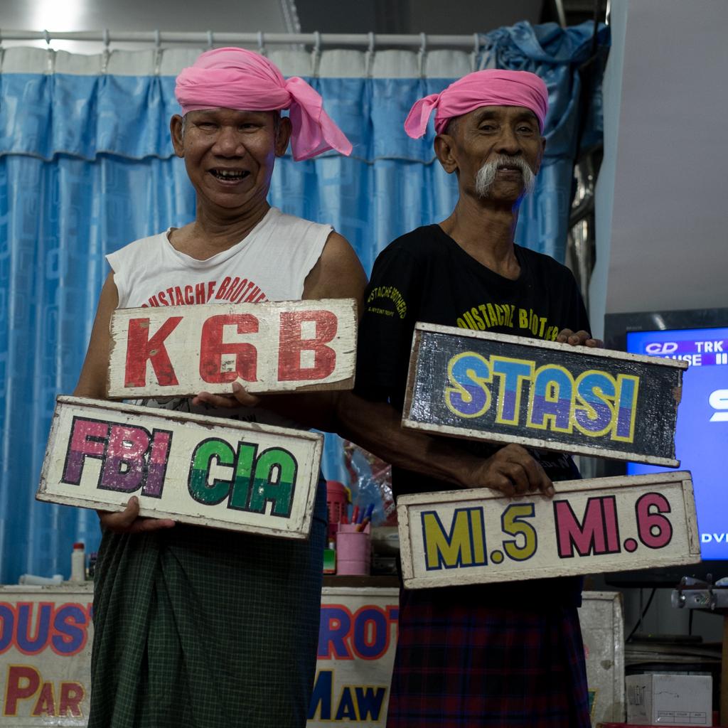 KGB Moustache Brothers