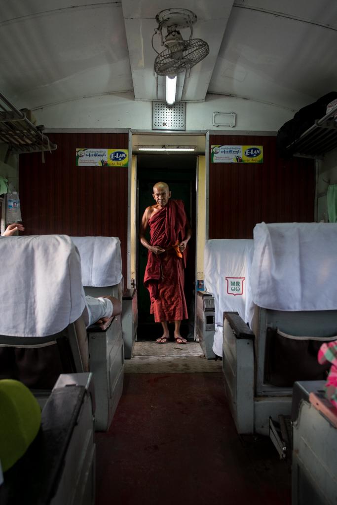 Moine train Hsipaw