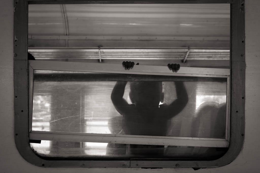 Train gare de Hsipaw 35mm