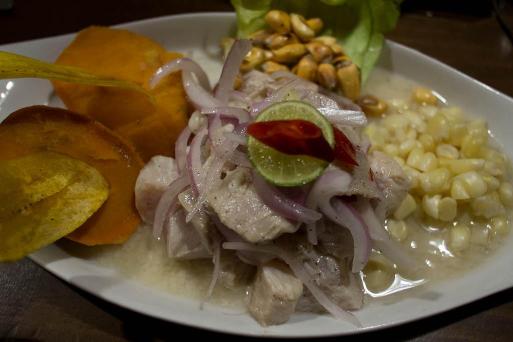 Ceviche Huacachina
