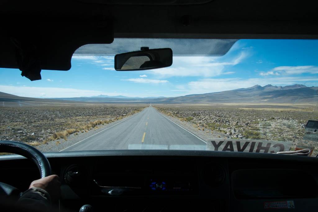 Retour Arequipa