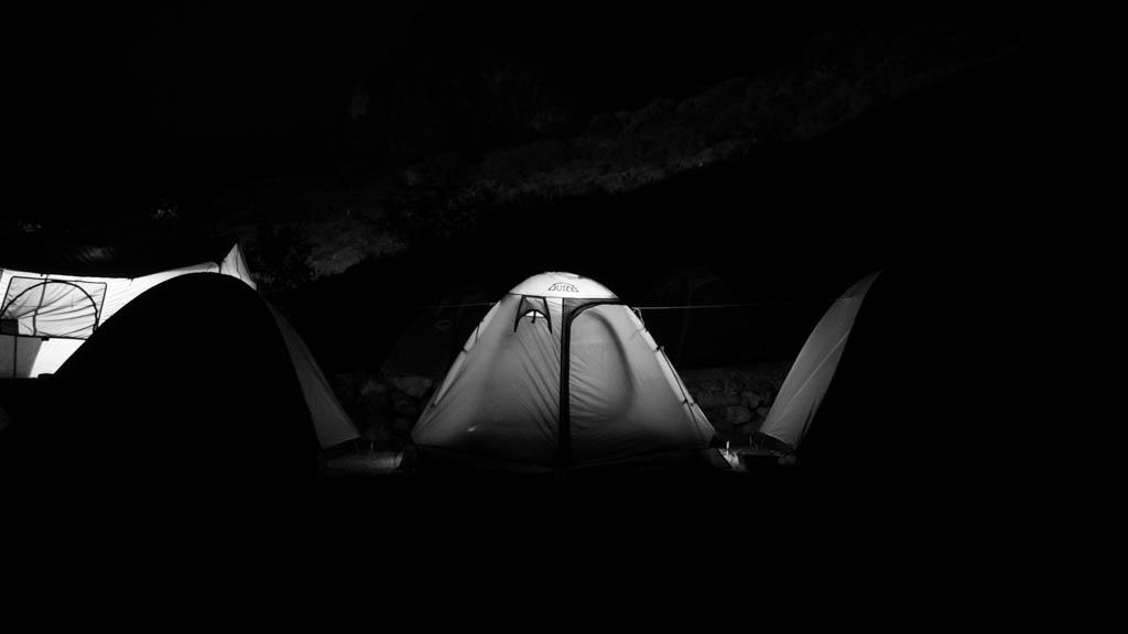 Campement jour 1