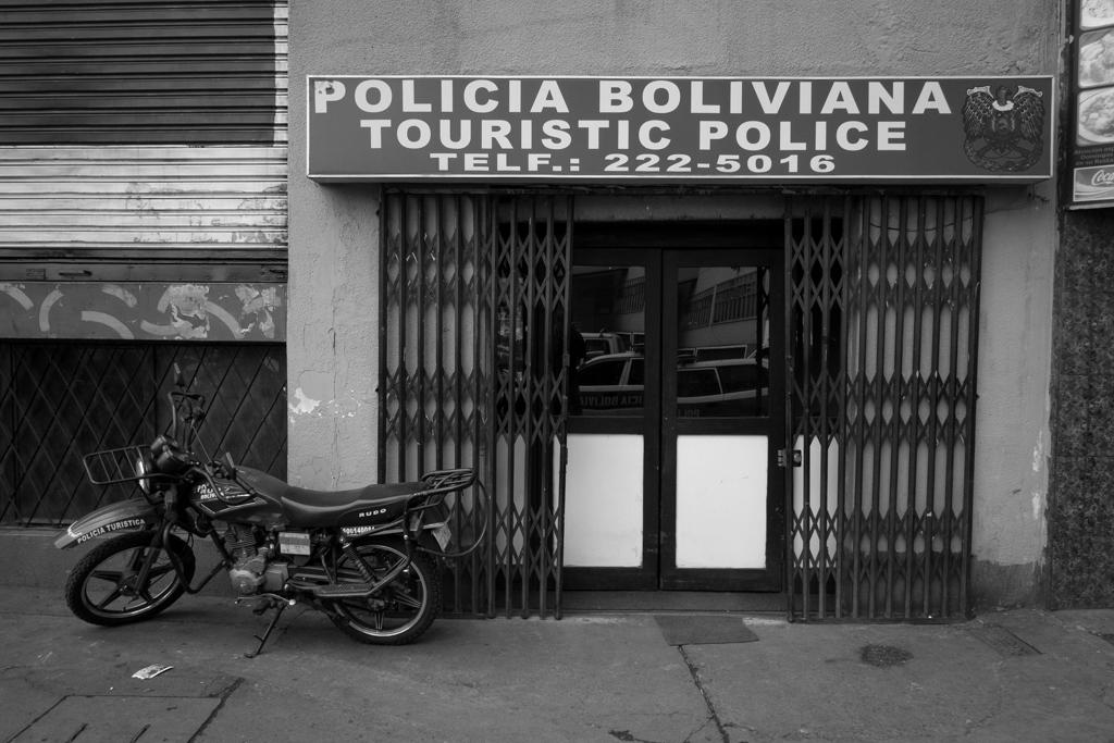 Commissariat police bolivien
