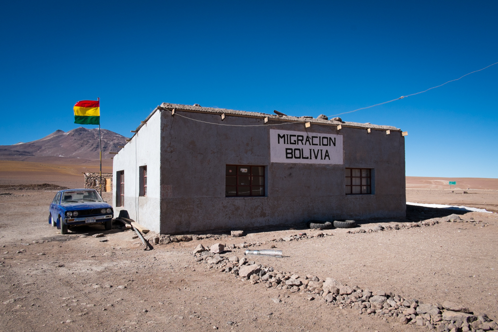 Frontière Bolivie-Chili
