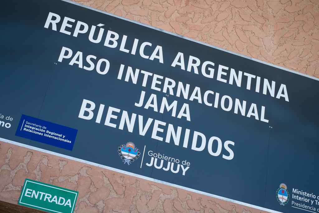 Frontière Jama Argentine