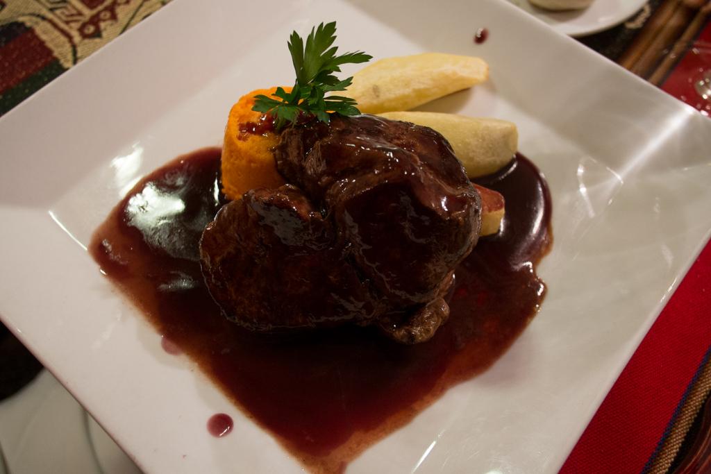 Pièce de bœuf sauce Malbec