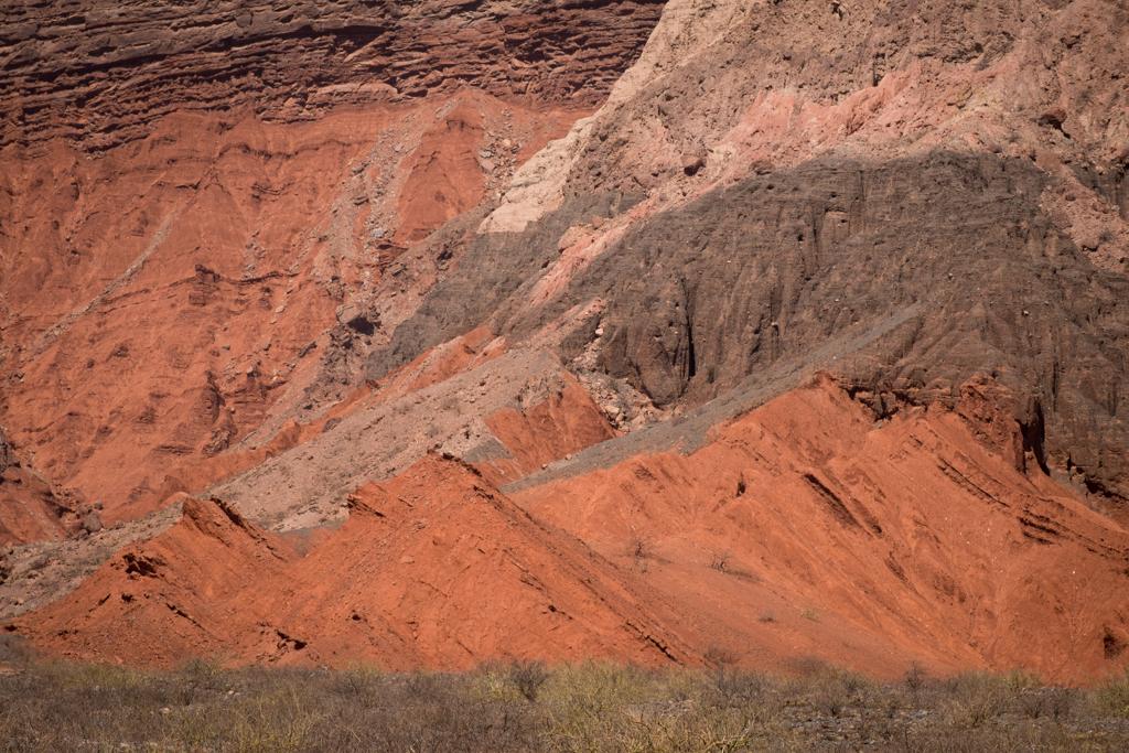 Quebrada Cafayate couleurs