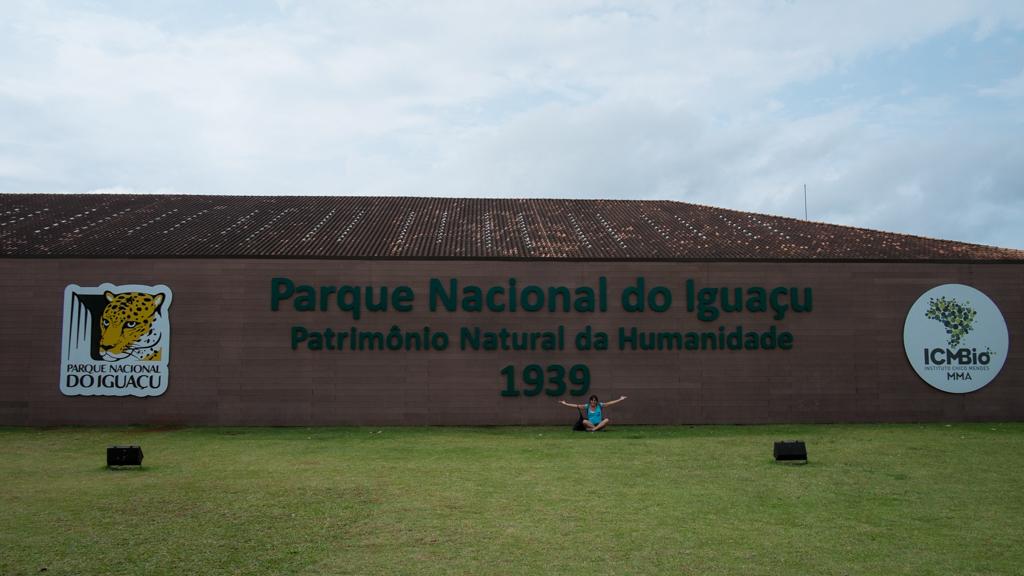 Entrée parc Iguaçu Brésil