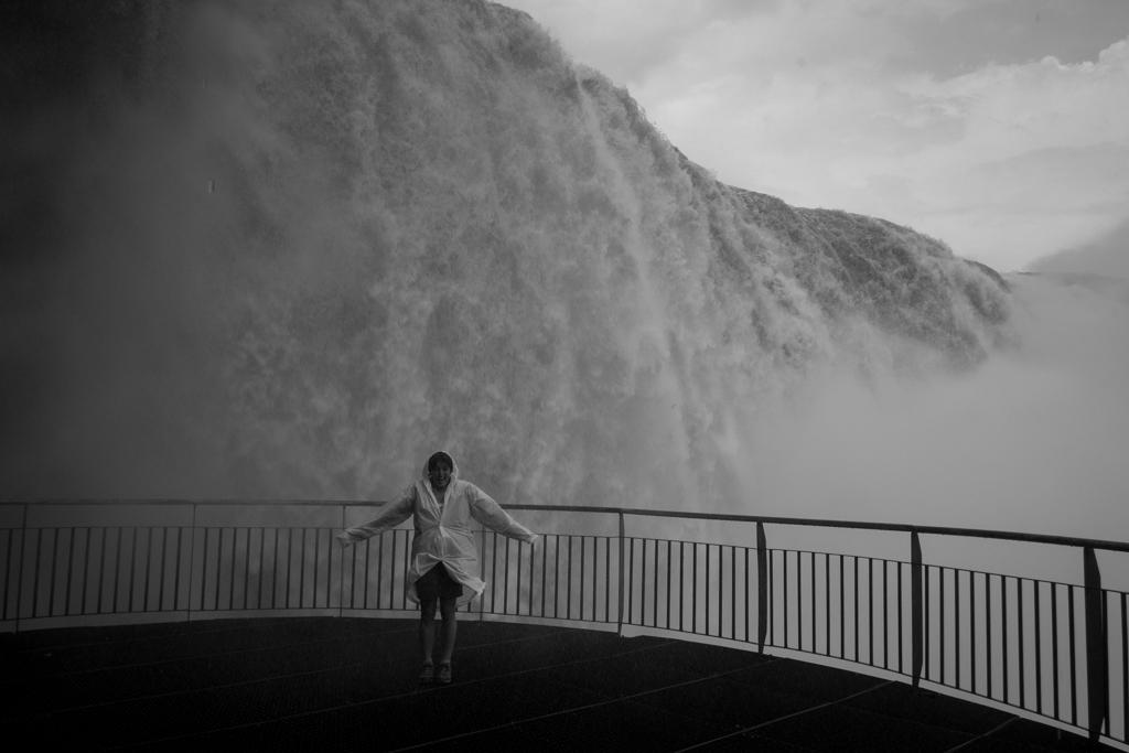 Iguaçu pied des chutes
