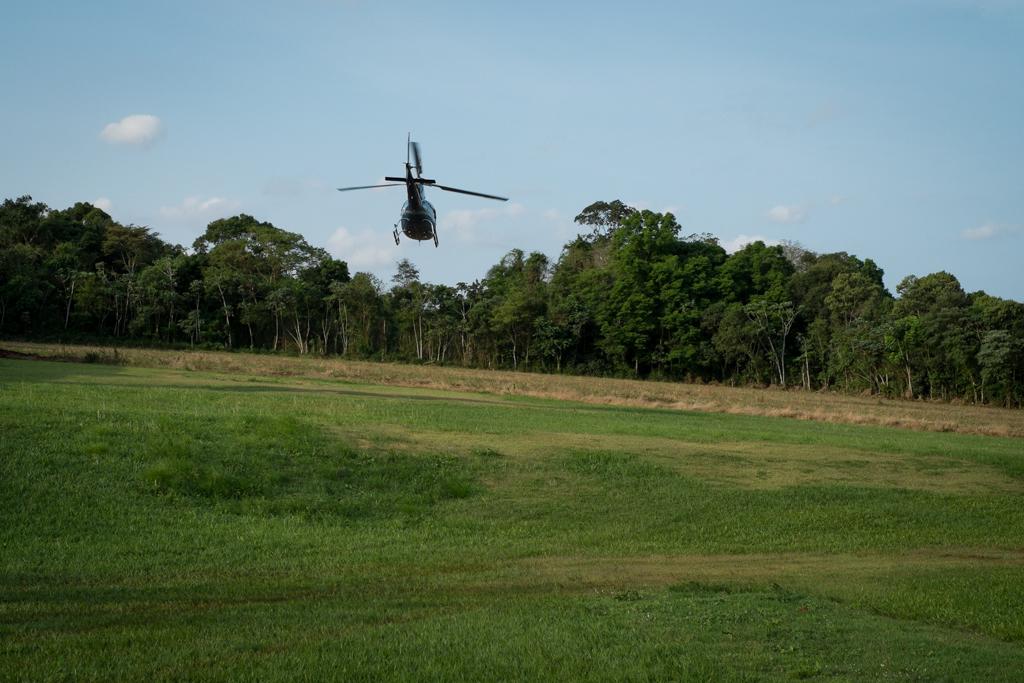 Hélicoptère Iguaçu