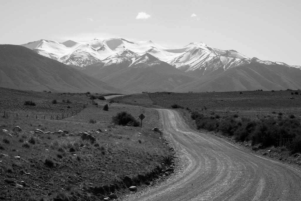 Vieille route El Calafate-Perito Moreno