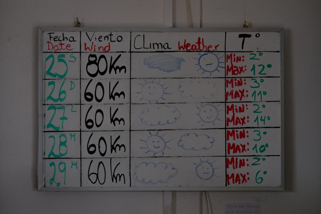 Prévisions météo Torres del Paine
