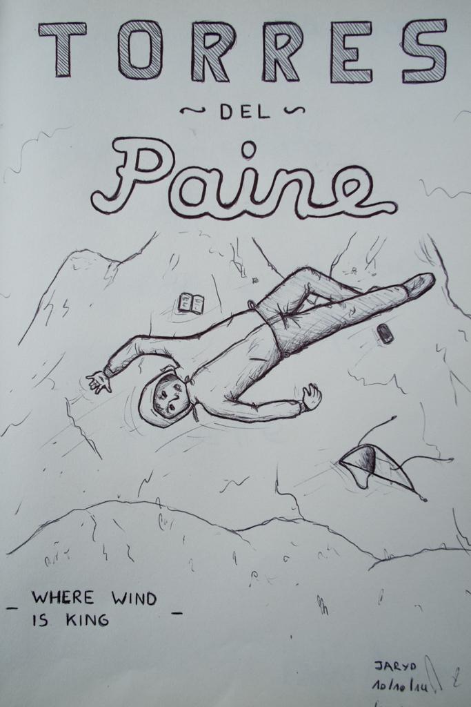 Dessin Torres del Paine