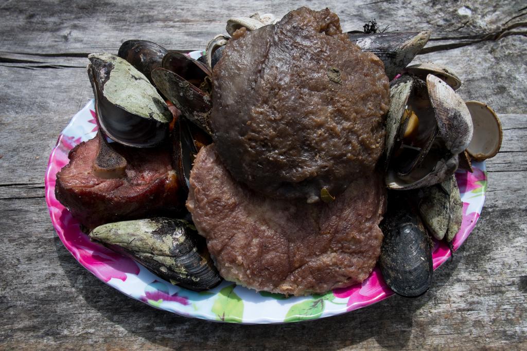 Assiette curanto Chiloé