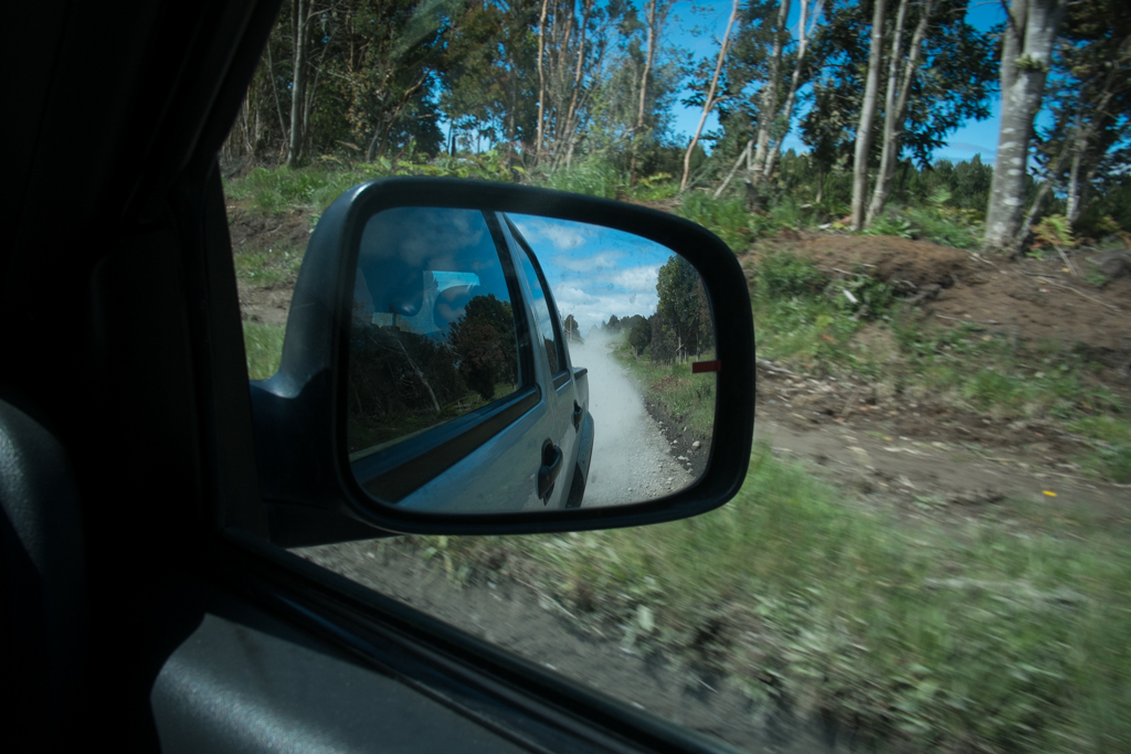 Chemin de terre Chiloé