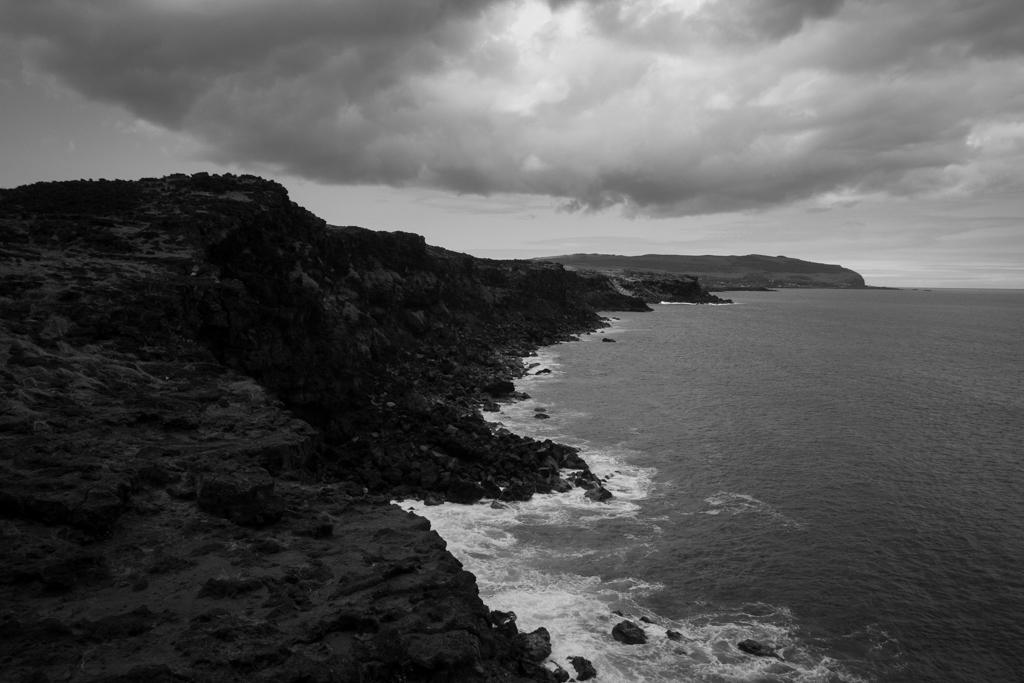 Ile de Paques côte
