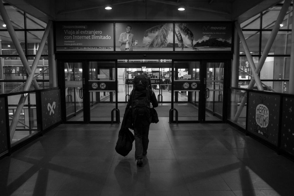Retour aéroport Santiago