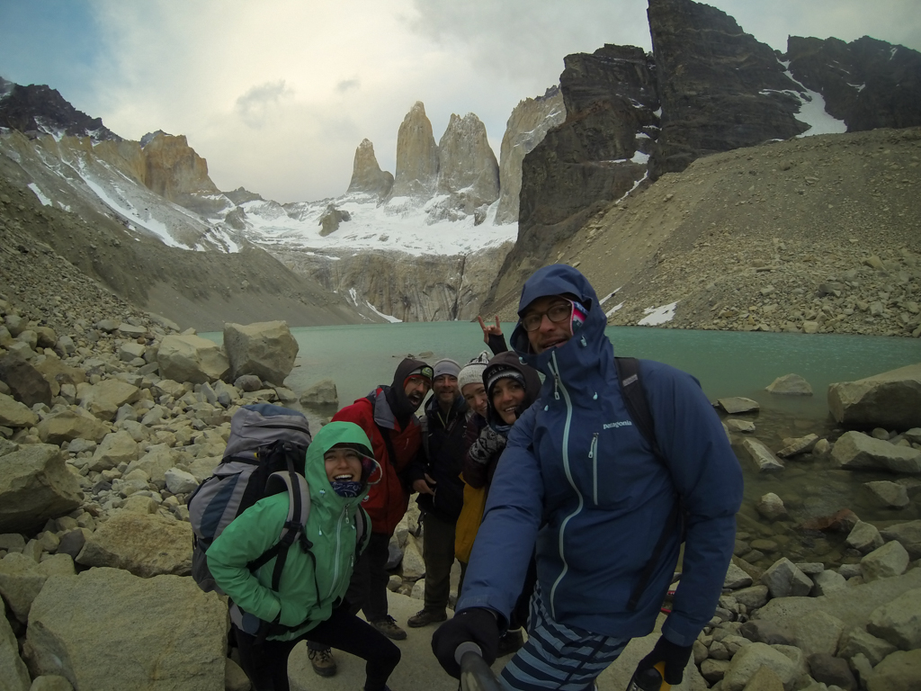 Torres del Paine photo de groupe